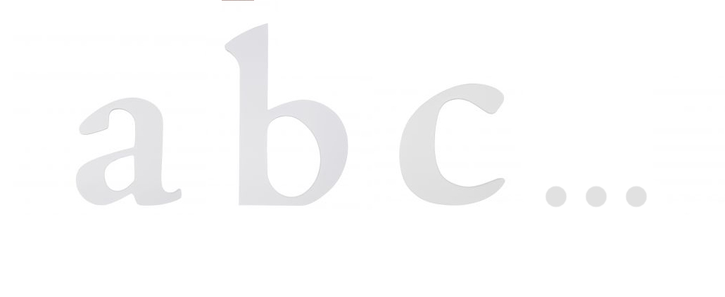 Kinder-Alphabet