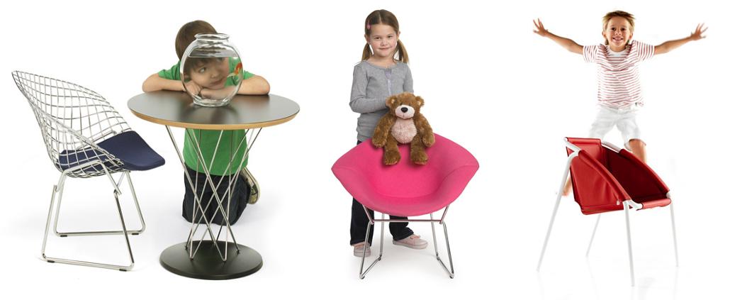 Kinderstühle und -tische