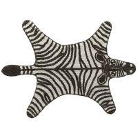"""Lifetime Teppich """"Wild Life"""" Zebra 105x142cm"""