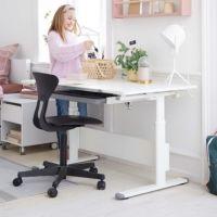 Flexa Schreibtisch EVO, höhenverstellbar, neigbar