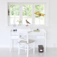 Oliver Furniture Tischbeinset für Juniorschreibtisch / Schreibtisch KIDS II, weiß