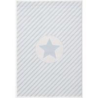 Kinderteppich Happy Rugs DECOSTAR blau/weiss 160x230cm
