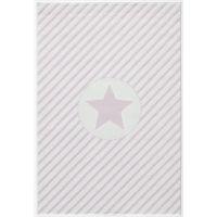 Kinderteppich Happy Rugs DECOSTAR rosa/weiss 120x180cm