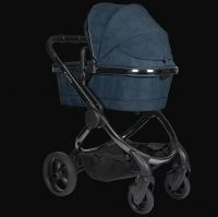 I Candy New Peach Kinderwagen Phantom Navy Check