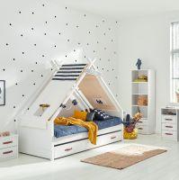 Cool Kids Einzelbett mit Tipi SUPERHERO
