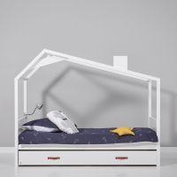 Cool Kids Einzelbett mit Hütte