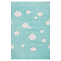 Kinderteppich Happy Rugs AUF WOLKE 7 mint 120x180cm