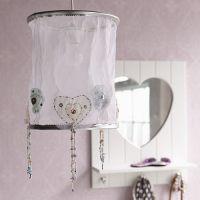 Kinderlampe / Deckenlampe SILVER SPARKLE, Durchmesser 25cm
