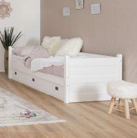 Smart Line Tagesbett mit 3 Schubläden  - in 2 Farbvarianten