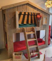 Etagenbett/Spielbett Dannenfelser Berghütte