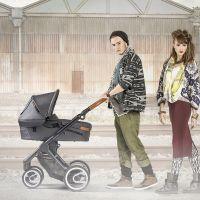 MUTSY Komplett-Kinderwagen EVO URBAN NOMAD 2018, ab der Geburt, Gestell Black