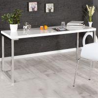 Jugendschreibtisch Schreibtisch SCALA, 160x80cm, weiß