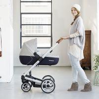 MUTSY Kombi-Kinderwagen i2 PURE 2018, ab der Geburt, Gestell Alu