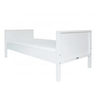 BOPITA Basic Kinderbett / Jugendbett NORDIC, weiß, 90x200cm, umbaubar