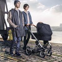 MUTSY Komplett-Kinderwagen EVO URBAN NOMAD 2018, ab der Geburt, Gestell Silber