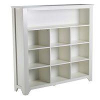 Kinderregal / Bücherregal PRETTY, Holz, weiß, 10 Fächer