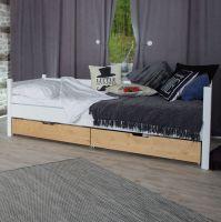 Smart Line Tagesbett mit 2 Schubkisten  - in 2 Farbvarianten