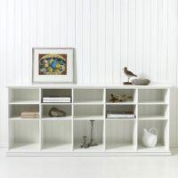 Oliver Furniture 5 Extra-Einlegeböden für Regal KIDS, weiß, 10 Fächer