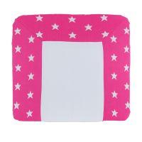 Babys Only Großer Wickelauflagenbezug / Bezug für Wickelauflagen STERNE, pink