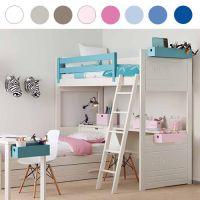 Asoral Hängebox / Hängeregal LOFT für Betten, 20 Farben zur Auswahl