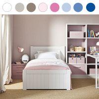 Asoral Jugendbett / Kinderbett NIDO BAHIA, Massivholz, 20 Farben zur Auswahl