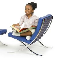 knoll kids Kindersessel BARCELONA CHAIR, Leder