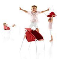 BE Kinderstuhl / Stuhl CHAIR, rot, stapelbar