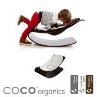 BLOOM Design Babywippe / Babywiege COCO, Holz, Bio-Baumwolle