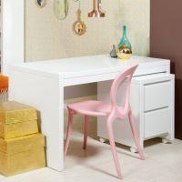 BOPITA Schreibtisch CAMILLE, weiß, 140x70cm