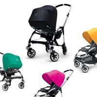 BUGABOO City-Kinderwagen / Buggy BEE³, Gestell: alu