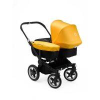 BUGABOO Kinderwagen DONKEY² MONO, Gestell SCHWARZ, Sitz+Wanne SCHWARZ