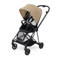 Cybex Kinderwagen Buggy MIOS Gestell: Black - Cashmere Beige