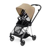 Cybex Kinderwagen Buggy MIOS Gestell: Chrome - Cashmere Beige