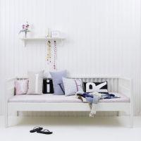 Oliver Furniture Tagesbett/Day Bed KIDS, weiß, 90x200cm