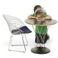 knoll kids Kindersessel / Kinderstuhl DIAMOND CHAIR mit Sitzkissen