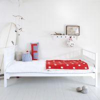 Oliver Furniture Bett/Jugendbett/Einzelbett KIDS, weiß, 90x200cm