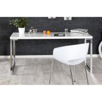 Jugendschreibtisch Schreibtisch WHITE 160 x 60 cm weiß hochglanz