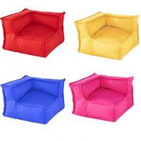 My Cushion Sitzkissen Eckteil mit Rückenlehne, für innen und außen