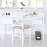 Oliver Furniture Juniorschreibtisch / Schreibtisch / Tisch KIDS II, weiß, 4 Schubladen