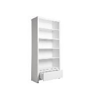 BOPITA Bücherregal / Kinderregal CAMILLE mit Schublade, weiß