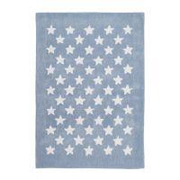 Kinderteppich / Teppich MULTI STAR, 120x170cm, pastell-blau