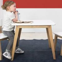 Bopita Kindertisch IVAR quadratisch 60x60cm