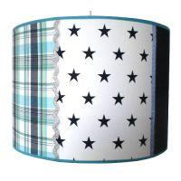 Lampenschirm STARS & STRIPES, für Pendellampe, Durchmesser 35cm