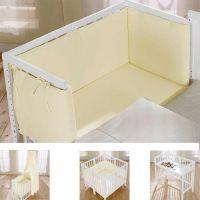 Komplettset - Anstellbett / Beistellbett MARTHA mit Komfort-Matratze