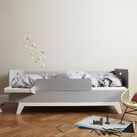 MIMM Tagesbett mit Rausfallschutz und Nachttisch, 90x200cm