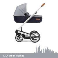 MUTSY Kombi-Kinderwagen IGO URBAN NOMAD, alu, ab der Geburt