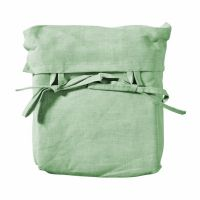 Oliver Furniture WOOD MINI+ Bett-Vorhang Grün für halbhohes Hochbett
