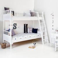 Oliver Furniture Etagenbett KIDS, weiß, 90x200cm, 176cm Höhe