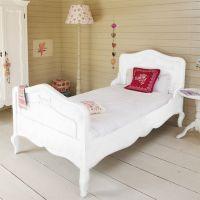 Opsetims Jugendbett BAMBINI BIG, Massivholz, weiß lackiert 140 x 200 cm inkl. Lattenrost