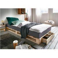 Infanskids Palettenbett mit Schublade 90x200cm - erhältlich in 3 Farben